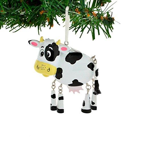 Cow Christmas Ornaments - Personalized Farm Animals Christmas Tree Ornament