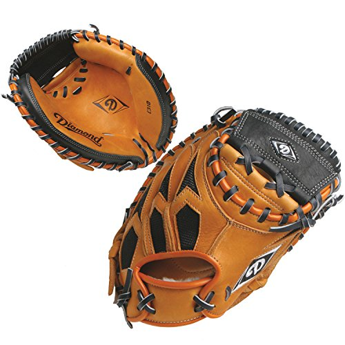Diamond Right Hander's 31-Inch Circumference Youth Catcher's Mitt, Each - Circumference Catchers