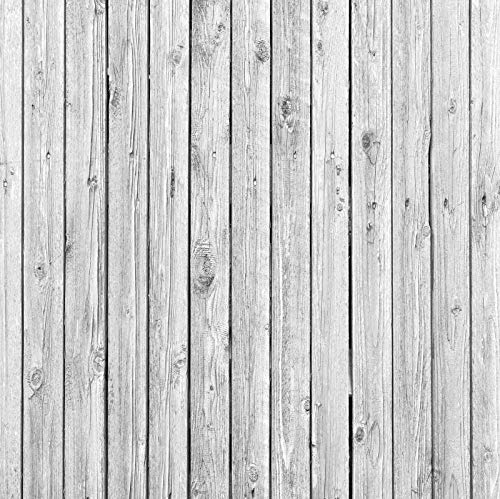 Baocicco 6x6ft Countryside Grunge Stripe Wood Backdrop Wooden Plank Board Backdrop Pet Food Fashion Clothes Vinyl Photography Background Wall Floor Fence Decor Vlogger Video Shoot Portraits