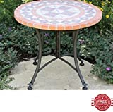 Patio Table Lawn Garden Table Side Round Shape Balcony Lounge Outdoor Furniture & E book By Easy2Find