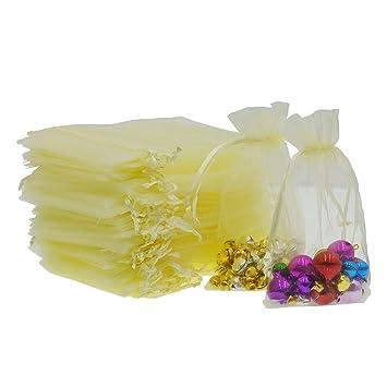 9ed63f2e2 AsentechUK® - 100 Bolsas de Organza de 15 cm x 20 cm para joyería de  Regalo, Bolsas de Organza con cajones: Amazon.es: Hogar