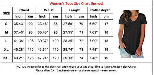 NIASHOT Women's T-Shirt Short Sleeve Floral Tees V Neck Criss Cross Summer Tops