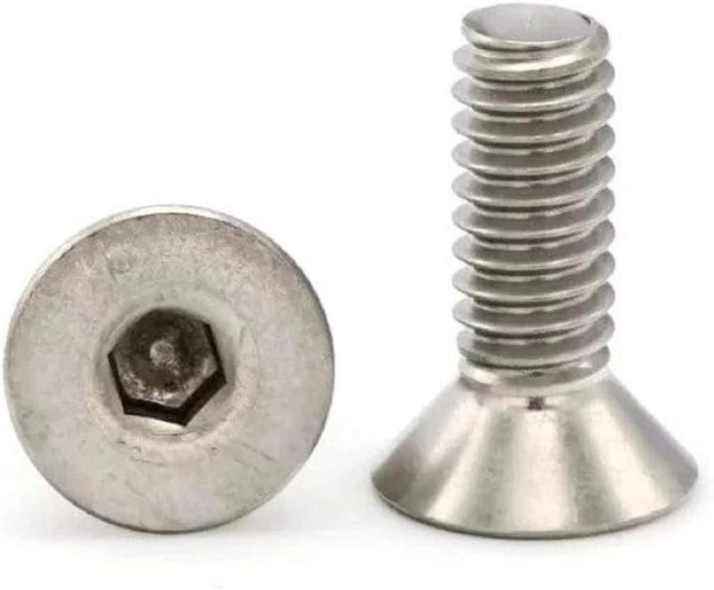 316 Stainless Steel Flat Head Socket Cap Screws 1//4-20 x 5//8 Qty 250