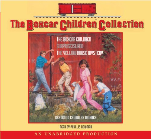 The Boxcar Children Collection: #1: The Boxcar Children; #2: Surprise Island; #3: The Yellow House Mystery - Book  of the Boxcar Children