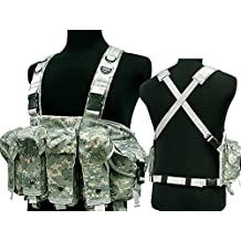 Tactical AK Chest Rig Combat Vest Magazine Pouch Airsoft Paintball Military ACU