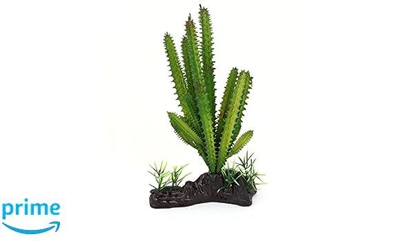 Sourcingmap Plástico Acuario Aquascaping Aloe Plantas Hierba, 19 cm, Color Verde: Amazon.es: Productos para mascotas