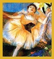 Gift Trenz Degas Danseuse Assise Magnetic Bookmark