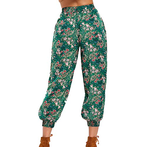 Clearance Sale! Women Pants Wintialy Womens Ladies Printing Floral Trousers Long Pants Baggy Leggings Plus