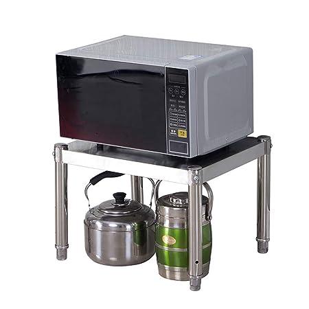 LCF Estantes de Almacenamiento de Cocina Microondas Organizador de ...