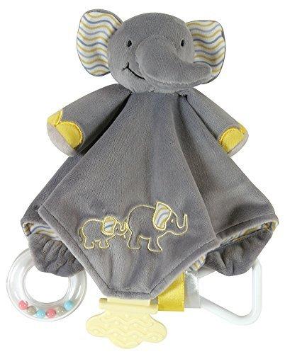 国内発送 Stephan Baby Chewbie B078WW6PKJ Activity Stephan Toy Security and TeeTher Security Blanket Grey Elephant [並行輸入品] B078WW6PKJ, 竹野町:3ea60b83 --- a0267596.xsph.ru