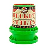 Indy Jester Children`s Bucket Stilts - Various Colours Available (Green)
