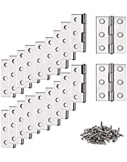 Scharnierband, stangscharnier, 20 stuks deurbandscharnier, scharnier, scharnier, scharnier, scharnieren met 6 montagegaten, steekverbinders