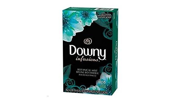 Downy Infusiones 105 secadora hojas de los Estados Unidos: Amazon.es: Hogar