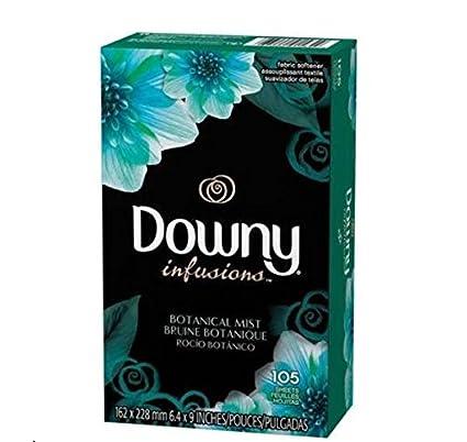 Downy Infusiones 105 secadora hojas de los Estados Unidos