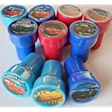 Disney Cars 3 Self-Inking Stamps / Stampers Party Favors (10 Counts)