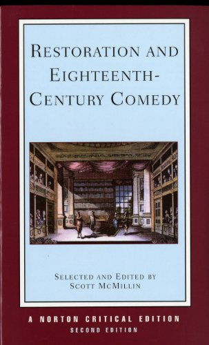 Restoration and Eighteenth-Century Comedy (Norton Critical Editions) by imusti