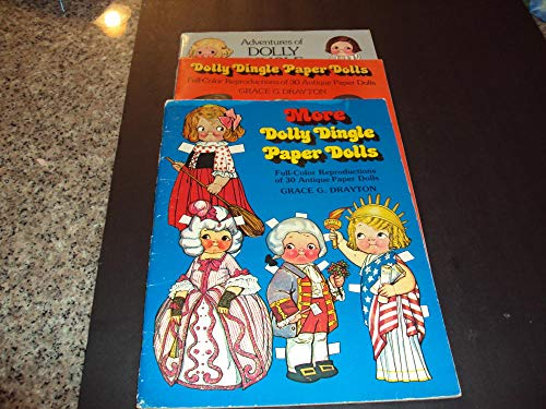 3 Books Dolly Dingle Paper Dolls By Grace Drayton all Missing Plate #1
