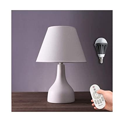 Amazon.com: PPWAN Table Lamp Bedroom Bedside Creative Nordic Desk ...