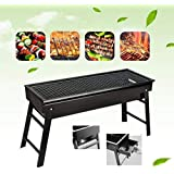 Charcoal Grill,Portable Barbecue Grill Folding BBQ Grill,Small Barbecue Grill,Outdoor Grill Tools for Camping Hiking…