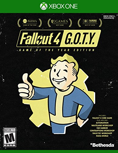 Fallout 4 Game of The Year Edition - Xbox - Mall Tulsa