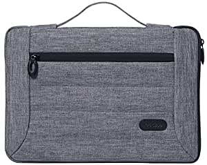 """ProCase 12-12.9 Inch Laptop Sleeve Case Cover Bag for MacBook Surface Pro 7 / Pro 6 / Surface Pro 2017/ Pro 4 3, Apple iPad Pro, Most 11"""" 12"""" Laptop Ultrabook Notebook MacBook Chromebook -Grey"""