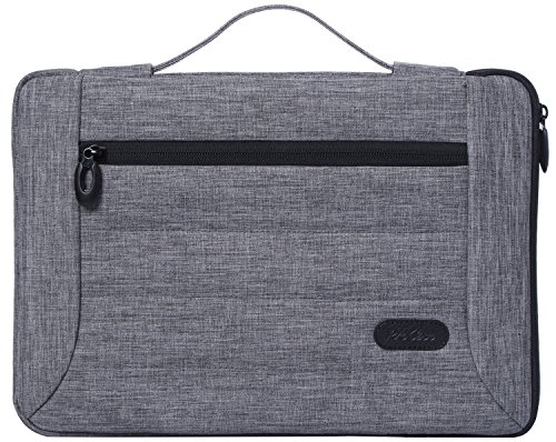 ProCase 13-13.5 Inch Laptop Sleeve Case Cover Bag for MacBook Pro Air, Surface Book, Most 12 13 Laptop Ultrabook Notebook MacBook Chromebook -Grey