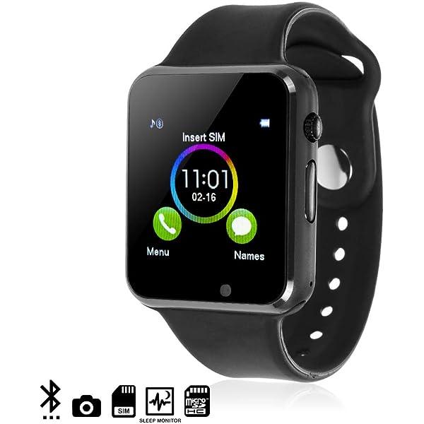 DAM - G08 Smartwatch Black. Cámara integrada. Acepta SIM y ...