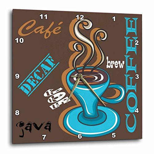 Coffee Combo Wall Clock, cute coffee wall decorations