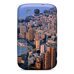 High-quality Durability Case For Galaxy S3(twilight Over Monte Carlo)