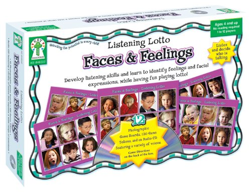 Key Education Faces and Feelings Educational Board Game