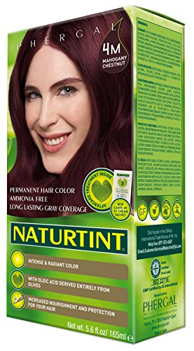 Naturtint Permanent Hair Color - 4M Mahogany Chestnut, 5.6 Fluid Ounce (Pack of 6) by Naturtint (Image #2)