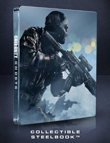 Call of Duty Ghosts Steelbook Case [G1 Size] [NO GAME] (Xbox 360 Call Of Duty Ghosts Limited Edition)