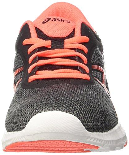 Asics Nitrofuze, Zapatillas de Deporte para Mujer Gris (Carbon/flash Coral/black)