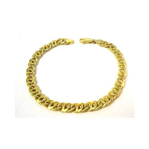 bracciale oro catena