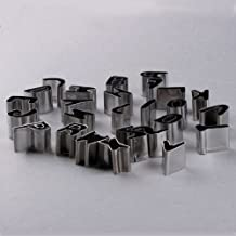 Good Cool 26pcs English Alphabet Letters Shaped Stainless Steel Mini Biscuit Cookies Cutters Molds