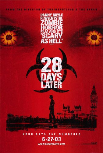 Image result for 28 days later film poster
