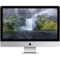 Apple iMac 27 Desktop with Retina 5K display - 4.0GHz Intelquad-core Intel Core i7, 256GB Flash Storage, 16GB 1600MHz DDR3 Memory, R9 M295X 4GB GDDR5, Mac OS X Yosemite, (NEWEST VERSION)