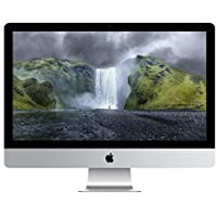 Apple iMac 27 Desktop with Retina 5K display - 4.0GHz Intelquad-core Intel Core i7, 256GB Flash Storage, 8GB 1600MHz DDR3 Memory, R9 M295X 4GB GDDR5, Mac OS X Yosemite, (NEWEST VERSION)