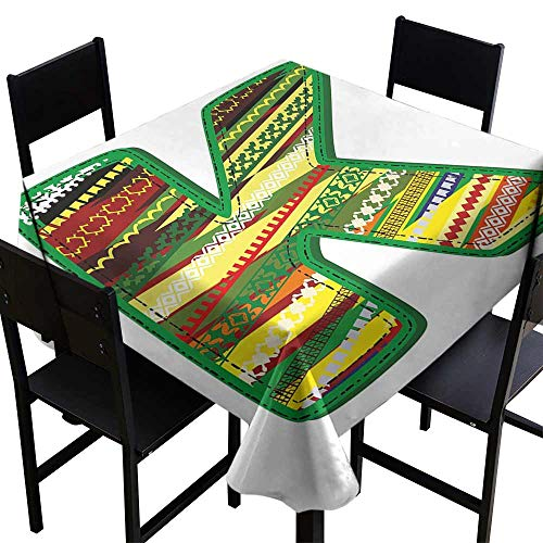 YSING Square Tablecloth White,70