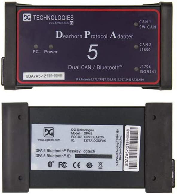 Dearborn Protocol Adapter 5,MPDG CAN DPA5 Dearborn Protocol Adapter for Heavy Duty Truck