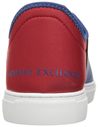 X Deep White Exchange Fashion Exchange Lace Red Lycra Pu Blue Armani A Sneaker Armani Men STw1dAAq