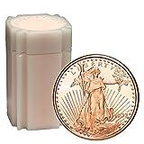 20 Rounds- Saint Gaudens 1 oz .999 Copper Bullion Rounds