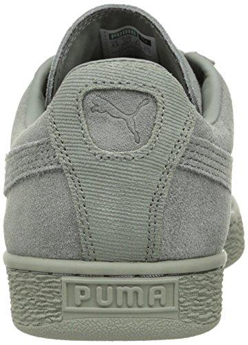 Puma Mens Camoscio Classico Tonale Moda Sneaker Agave Verde