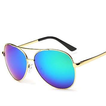 Amazon.com: Nuevo azul bloque de luz gafas cuadrado gafas ...