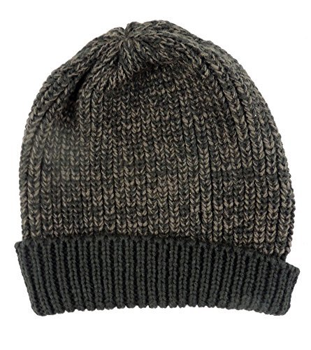 Dorfman Pacific Men's Slouchie Cable Knit Beanie Moss (Dorfman Pacific Winter Beanie)