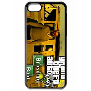 Breaking Bad Iphone 5C Black Phone Case Gift Holiday Gifts Souvenir Halloween gift Christmas Gifts TIGER155285