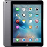 Apple iPad Air MD786LL/A (32GB, Wi-Fi, Black with Space Gray) (Certified Refurbished)