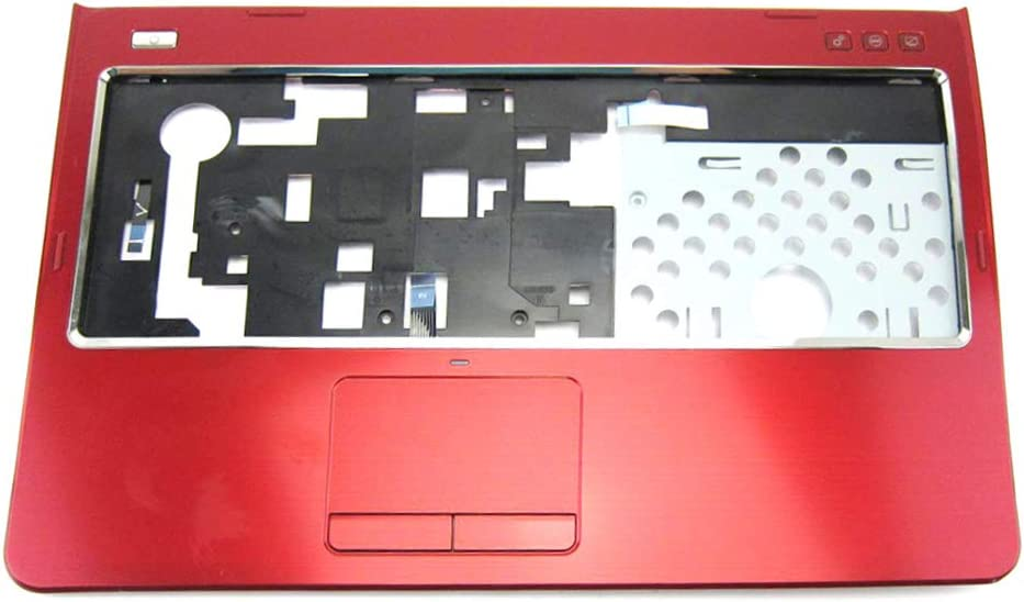 GAOCHENG Laptop Palmrest for DELL Inspiron 14R N4110 M411R M4110 red with touchpad 0YH55N 3ER01TCIW60 012TFR 12TFR Upper case New and Original