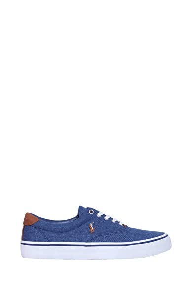 Polo Ralph Lauren Thorton Twill N Navy Zapatillas para Hombre: Amazon.es: Zapatos y complementos