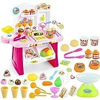 Techno Buzz Deal Mini Supermarket Pretend Play Toy 34 Pieces (Random Colour)